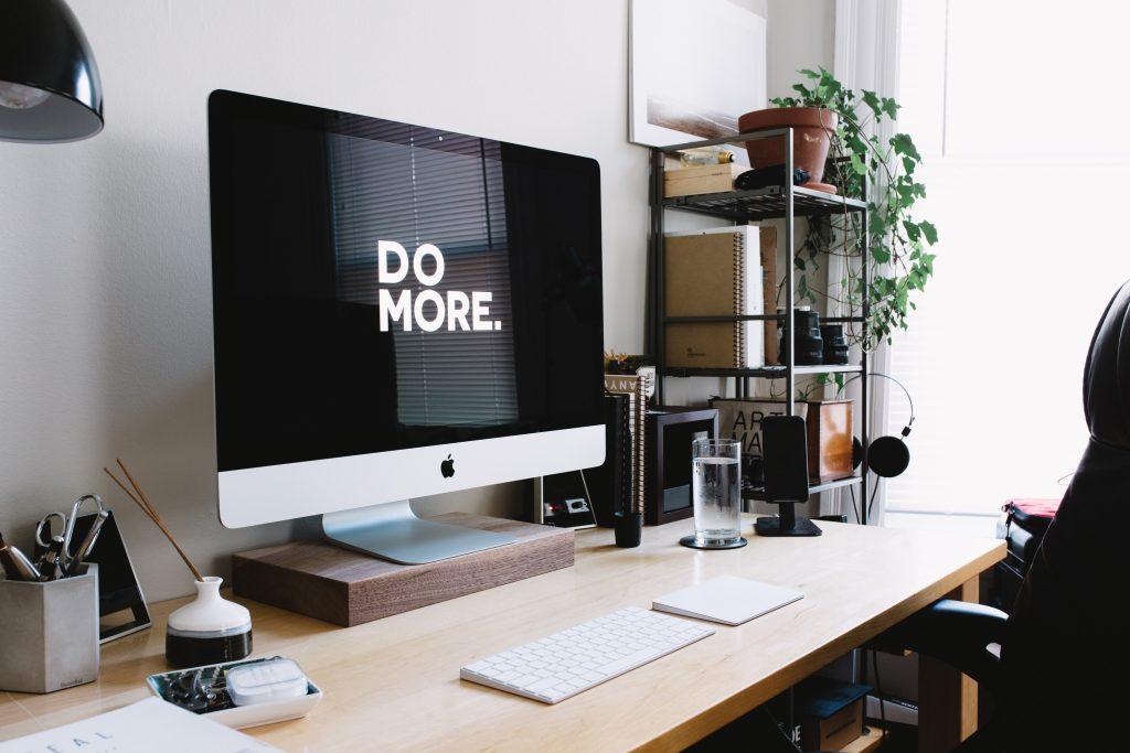 Productivité, écran, Imac