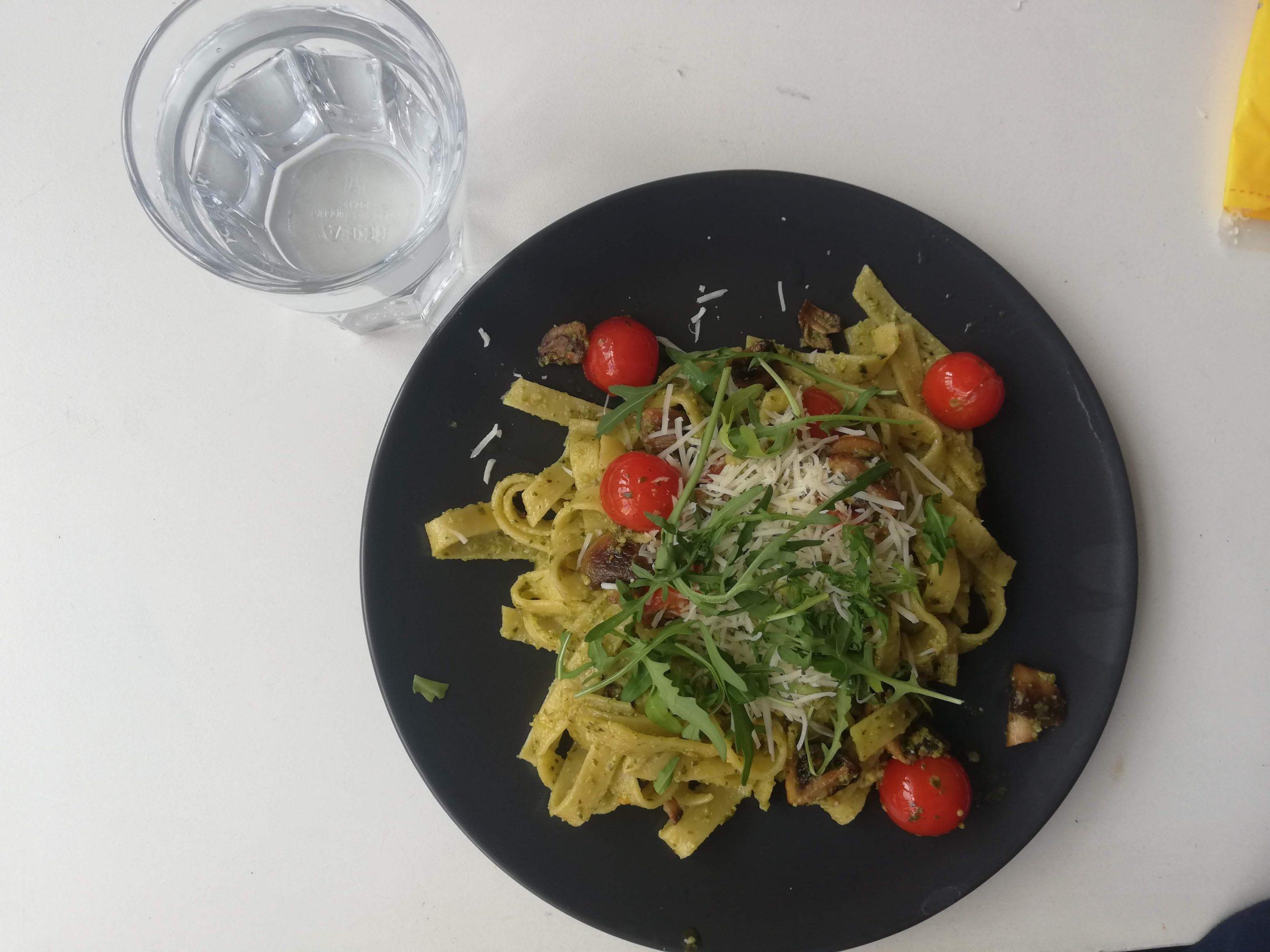 Pasta vegan
